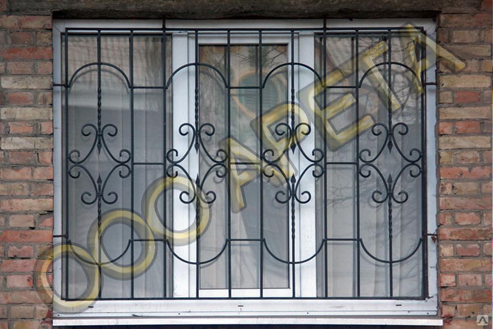 установка железной решетки на окна